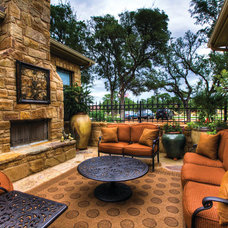 Traditional Patio by Jimmy Jacobs Homes