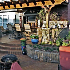 Traditional Patio by Kerry Burt & Associates