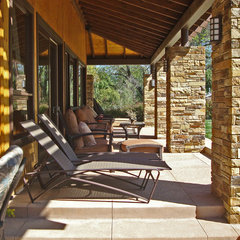 contemporary patio by Stephanie Ann Davis Landscape Design
