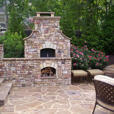 Traditional Patio by Douglas C Lynn, LLC Landscape Architecture