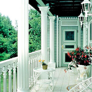 Photo of a victorian patio in New York.