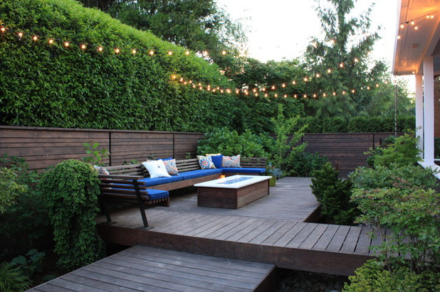 Contemporary Patio by Fifth Season Landscape Design & Construction