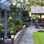 Manhattan Courtyard Garden Design Mediterranean Patio