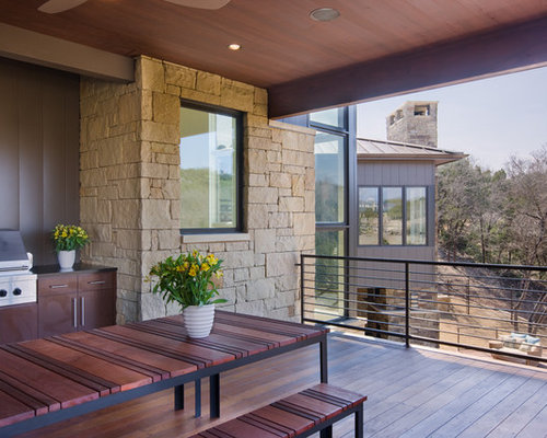 Hill country contemporary houzz for Contemporary homes for sale in austin