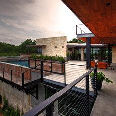 Modern Patio by Cornerstone Architects