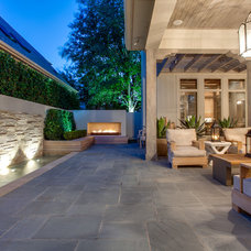 Transitional Patio by Rosewood Custom Builders
