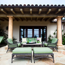 traditional patio by Julia Mora Design
