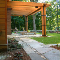 contemporary patio by Birdseye Design