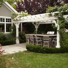 Traditional Patio by DOUGLAS A. MCQUILLAN - ARCHITECT