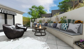 Hillside Levels Conceptual Design | Sitting Area & Fire Pits