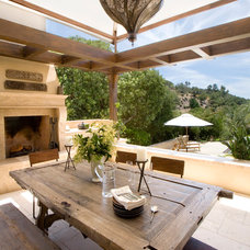 Contemporary Patio by Sterling-Huddleson Architecture
