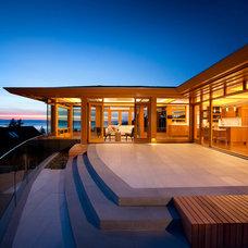 Patio by Don Stuart Architect Inc