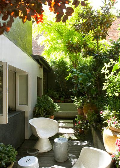 Contemporary Courtyard by David Rowland Studio