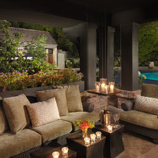 Contemporary Patio by BCV ARCHITECTS