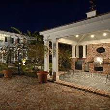 Traditional Patio by Torre Construction & Development