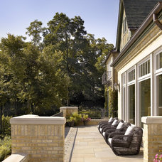 Traditional Patio by Morgante Wilson Architects