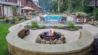 historic tudor backyard
