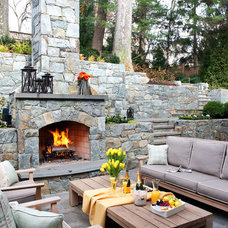 Traditional Patio by Cahill Design Build