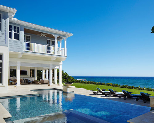 Key West Style Beach Front Home