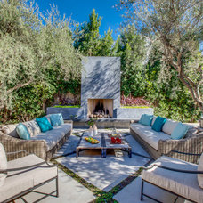 Contemporary Patio by Luke Gibson Photography