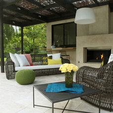 Contemporary Patio by Pretty Smart