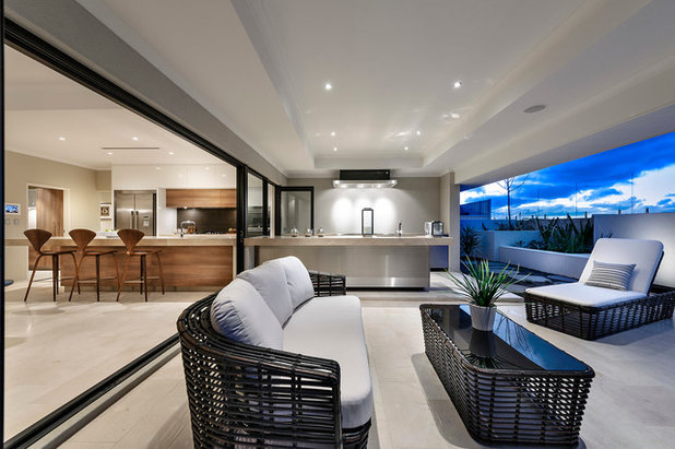 Contemporary Patio by Webb & Brown-Neaves
