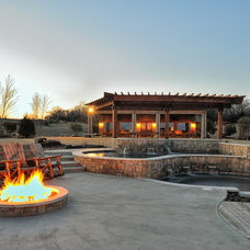Traditional Patio by Vining Design Associates