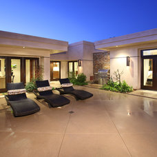 Contemporary Patio by V.I.Photography & Design