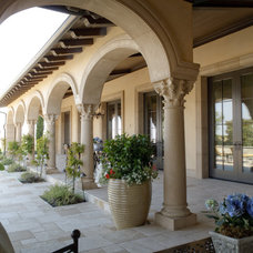 Mediterranean Patio by Homer Oatman, AIA