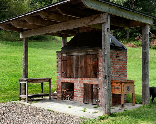 Backyard cooking ideas pictures remodel and decor for Country outdoor kitchen