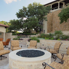 Mediterranean Patio by Zbranek & Holt Custom Homes