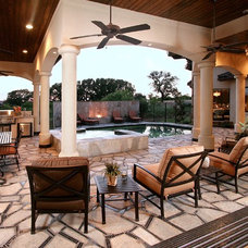 Traditional Patio by Zbranek & Holt Custom Homes