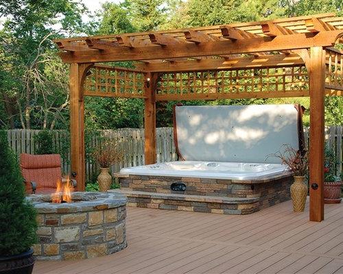 SaveEmail. Hot Spring Spas - Hot Tub Pergolas Ideas, Pictures, Remodel And Decor