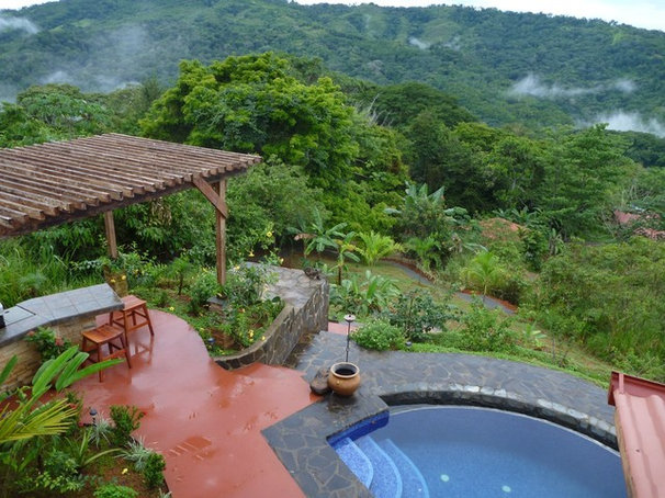 Tropical Patio House in Domincal Costa Rica