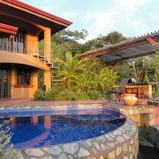 Mediterranean Patio House in Dominical Costa Rica