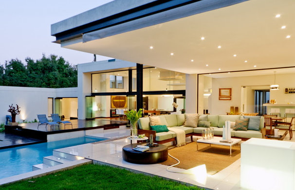Contemporary Patio by M Square Lifestyle Design