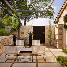 Contemporary Patio by Mark Ashby Design