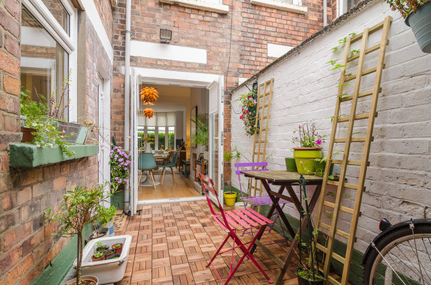 Eclectic Patio by Gary Quigg Photography