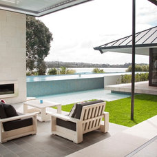 Contemporary Patio by Daniel Marshall Architect