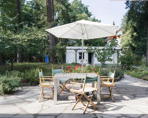 landhausstil terrasse ideen f r die terrassengestaltung houzz. Black Bedroom Furniture Sets. Home Design Ideas