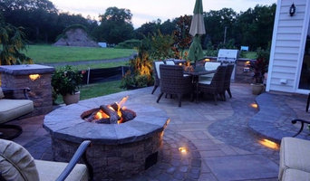 Howell NJ, Patio with Firepit & Kitchen