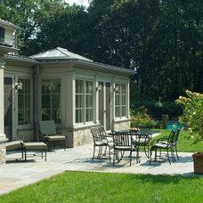 Traditional Patio by Huestis Tucker Architects, LLC