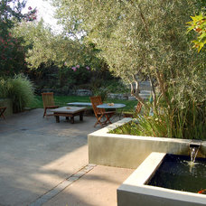 contemporary patio by Huettl Landscape Architecture
