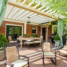 Traditional Patio by Eric Ross Interiors, LLC