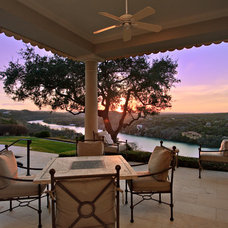 Traditional Patio by The PFA Design Group