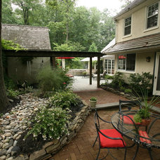 Traditional Patio by Tilghman Builders