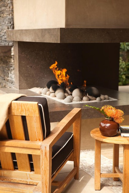 Contemporary Patio by Michael Fullen Design Group