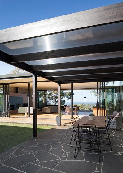 Contemporary Patio by Tascone Design