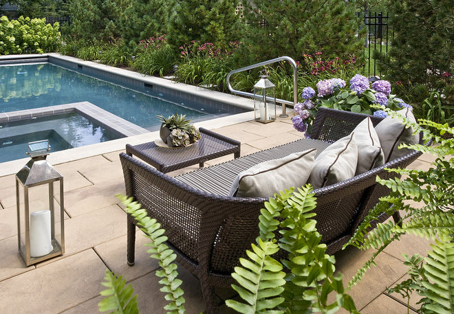 Contemporary Patio by The Garden Consultants, Inc.