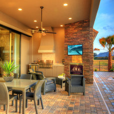 Contemporary Patio by Sisler Johnston Interior Design